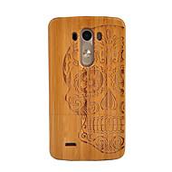 billige -Etui Til LG G3 Støtsikker Bakdeksel Hodeskaller Hard Bambus til LG G3