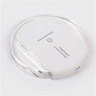 abordables Cargador Wireless-Cargador Wireless Cargador usb USB Cargador Wireless / Qi 1 Puerto USB 2 A DC 5V para iPhone 8 Plus / iPhone 8 / S8 Plus