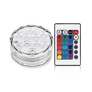 olcso LED projektorok-rgb 10led búvárlámpa ip68 vízálló úszómedence esküvői party pool tó világítás
