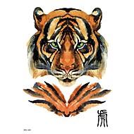 tanie -Tymczasowe tatuaże na ramię na ramię serii zwierząt 3d wodoodporne tatuaże naklejki nietoksyczny brokat duży fałszywy tatuaż biżuteria