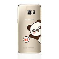 abordables Novedades en Accesorios para Samsung-Funda Para Samsung Galaxy S8 Plus S8 Diseños Funda Trasera Oso Panda Suave TPU para S8 Plus S8 S7 edge S7 S6 edge plus S6 edge S6