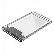 preiswerte -orico 2139u3 2,5 Zoll USB 3.0 Mikro-b Festplattengehäuse - USB 3.0 Micro b transparent