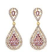 billige Smykker & Ure-2pcs Dame Dråbeøreringe - Simuleret diamant Dråbe Damer Klassisk Mode Smykker Guld Til Daglig
