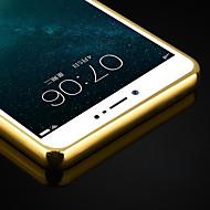 Недорогие Кейсы для iPhone 8 Plus-Кейс для Назначение Apple iPhone X iPhone 8 iPhone 7 Plus iPhone 7 Защита от удара Кейс на заднюю панель Сплошной цвет Твердый Металл для