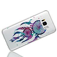 olcso Samsung tartozék újdonságok-Case Kompatibilitás Samsung Galaxy S8 Plus S8 IMD Minta Fekete tok Csillogó Álomfogó Puha TPU mert S8 Plus S8 S7 edge S7