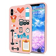 Недорогие Кейсы для iPhone 8-Кейс для Назначение Apple iPhone X iPhone 8 Plus С узором Кейс на заднюю панель Плитка Мягкий ТПУ для iPhone X iPhone 8 Pluss iPhone 8