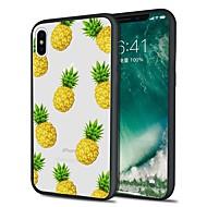 מגן עבור Apple iPhone X / iPhone 8 Plus תבנית כיסוי אחורי אוכל / פירות רך TPU ל iPhone X / iPhone 8 Plus / iPhone 8