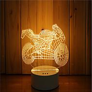 olcso LED éjszakai világítás-1 készlet a 3d hangulat éjszakai fény kéz érzés dimmable usb powered ajándék lámpa motorkerékpár
