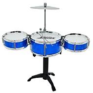 cheap Classic Toys-Drum Set Toy Musical Instrument Round Drum Set Jazz Drum Girls' Boys'
