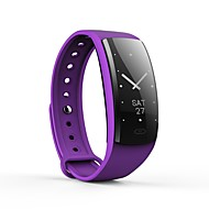 cheap -YY-QS90 Smart Bracelet Smartwatch Android iOS Bluetooth APP Control Calories Burned Exercise Record Pedometers Pulse Tracker Pedometer Activity Tracker Sleep Tracker Sedentary Reminder / Alarm Clock
