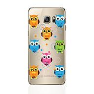 tanie Galaxy S6 Edge Plus Etui / Pokrowce-Kılıf Na Samsung Galaxy S8 Plus S8 Wzór Czarne etui Sowa Miękkie TPU na S8 Plus S8 S7 edge S7 S6 edge plus S6 edge S6