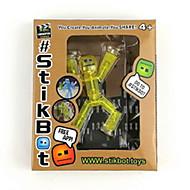 お買い得  おもちゃゲーム-ロボット おもちゃ スティックボット おもちゃ アイデアジュェリー 創造的 1 小品 子供用 成人 ギフト