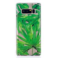 Funda Para Samsung Galaxy Nota 8 Diseños Cubierta Trasera Flor Suave TPU para Note 8