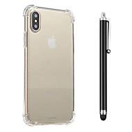 abordables Súperoferta de Precios Locos-Funda Para Apple iPhone X / iPhone 8 / iPhone 8 Plus Antigolpes / Transparente Funda Trasera Un Color Suave TPU para iPhone X / iPhone 8 Plus / iPhone 8