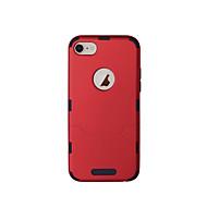 abordables Súperoferta de Precios Locos-Funda Para Apple iPhone 8 iPhone 8 Plus Ultrafina Funda de Cuerpo Entero Color sólido Dura TPU para iPhone 8 Plus iPhone 8
