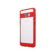 Недорогие Чехлы и кейсы для Galaxy S8 Plus-Кейс для Назначение SSamsung Galaxy S8 Plus S8 Ультратонкий Бампер Сплошной цвет Твердый ПК для S8 Plus S8