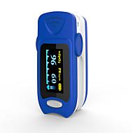 Недорогие Кровяное давление-точный fs20a oled кончик пальца пульс оксиметр оксиметрия кровь кислород насыщенность монитор с батареями синий цвет