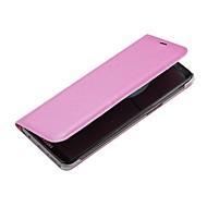 Недорогие Чехлы и кейсы для Galaxy S8-Кейс для Назначение SSamsung Galaxy S8 Plus S8 Бумажник для карт со стендом Флип Чехол Сплошной цвет Твердый Кожа PU для S8 Plus S8 S7