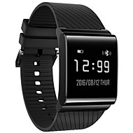 cheap -Smart Bracelet Smartwatch for iOS / Android Heart Rate Monitor / Blood Pressure Measurement / Pedometers / Message Reminder / Call Reminder Pedometer / Call Reminder / Sleep Tracker / Sedentary