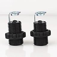 電球コネクタ ランプベース バルブアクセサリー メタリック E12 2本 70 照明アクセサリー 2本 UL