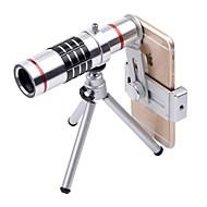 abordables Fotografía con Smartphone-Lente de teléfono móvil Lente Teleobjetivo Vidrio / Aluminio 6061 Macro 18X Samsung Galaxy / Galaxy S7 edge / iPhone