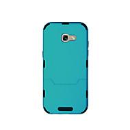 Недорогие Чехлы и кейсы для Galaxy A3(2017)-Кейс для Назначение SSamsung Galaxy A7(2017) A5(2017) Защита от удара Чехол Сплошной цвет Твердый ТПУ для A3 (2017) A5 (2017) A7 (2017)