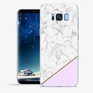 Недорогие Чехлы и кейсы для Galaxy S8-Кейс для Назначение SSamsung Galaxy S8 Plus S8 С узором Кейс на заднюю панель Мрамор Мягкий ТПУ для S8 Plus S8 S7 edge S7 S6 edge plus S6
