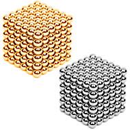 preiswerte Spielzeuge & Spiele-216*2 pcs 3mm Magnetspielsachen Magnetische Bälle Bausteine Puzzle Würfel Metalic Magnet Erwachsene Unisex Jungen Mädchen Spielzeuge Geschenk