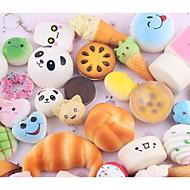 LT.Squishies Sıkıştırma Oyuncakları Stres Gidericiler Yiyecek&İçecek Yiyecek Donuts Stres ve Anksiyete Rölyef Ofis Masası Oyuncakları ADD, DEHB, Anksiyete, Otizm Giderilir 10 pcs Klasik Çocuklar için