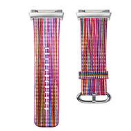 Недорогие Аксессуары для смарт-часов-Ремешок для часов для Fitbit ionic Fitbit Современная застежка Натуральная кожа Повязка на запястье