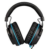 hesapli PC ve Tablet Aksesuarları-SADES R3 Saç Bandı Kablolu Kulaklıklar Dinamik Plastik Oyunlar Kulaklık Ses Kontrollü Mikrofon ile kulaklık