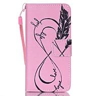 お買い得  iPod 用ケース/カバー-ケース 用途 iTouch 5/6 ウォレット カードホルダー スタンド付き パターン オートスリープ/ウェイクアップ フルボディーケース ハード