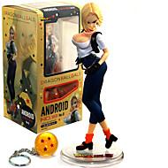 お買い得  アニメ・アクションフィギュア-アニメのアクションフィギュア に触発さ ドラゴンボール アオ 20 cm モデルのおもちゃ 人形玩具