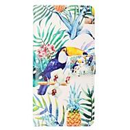 Недорогие Чехлы и кейсы для Galaxy S7 Edge-Кейс для Назначение SSamsung Galaxy S8 Plus S8 Бумажник для карт Кошелек со стендом Флип Магнитный Чехол Животное Твердый Кожа PU для S8