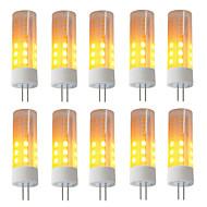 お買い得  LED コーン型電球-BRELONG® 10個 3W 230lm G4 LEDコーン型電球 36 LEDビーズ SMD 2835 炎効果 温白色 12V