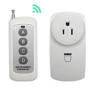 broadlink 1 til 1 us plug trådløs rf fjernbetjeningsafbryder til smart hjemme brug med rm pro
