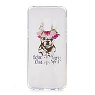Недорогие Чехлы и кейсы для Galaxy S9-Кейс для Назначение SSamsung Galaxy S9 S9 Plus С узором Кейс на заднюю панель С собакой Мягкий ТПУ для S9 Plus S9 S8 Plus S8