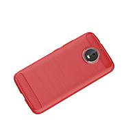 お買い得  携帯電話ケース-ケース 用途 Motorola C plus C 超薄型 バックカバー 純色 ソフト TPU のために Moto Z2 play Moto Z Force Moto Z Moto X4 Moto G5s Plus Moto G5s モトG5プラス Moto G4 Plus
