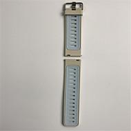 Недорогие Аксессуары для смарт-часов-Ремешок для часов для Gear S3 Frontier Gear S3 Classic Samsung Galaxy Современная застежка силиконовый Повязка на запястье
