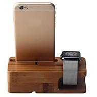 Недорогие Крепления и держатели для Apple Watch-Apple Watch Стенд с адаптером Other Бамбук Стол