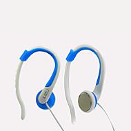お買い得  -LIZU KL320 イヤフック ケーブル ヘッドホン 動的 銅 携帯電話 イヤホン マイク付き ヘッドセット