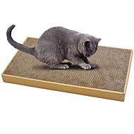 お買い得  -キャットニップ ベッド 紙 シンプル ペットフレンドリー スクラッチマット パラベンフリー ホルムアルデヒドフリー カード用紙 厚紙 段ボール紙 用途 ネコ 猫用おもちゃ