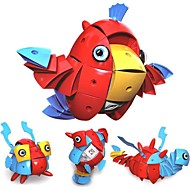 cheap Toys & Hobbies-Magnetic Blocks Toys Bird Animal Transformable New Design Soft Plastic Kids 90 Pieces