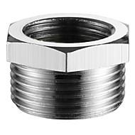 אביזר ברז-איכות מעולה-עכשווי מתאם צינור מתוברג-סִיוּם - כרום