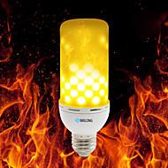 povoljno -brelong e27 / e14 / b22 2835 99leds topla bijela vatrena vatrena žarulja 4w ak 85 - 265v