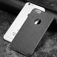 Недорогие Кейсы для iPhone 8-Кейс для Назначение Apple iPhone X iPhone 8 Матовое Кейс на заднюю панель Сияние и блеск Мягкий ТПУ для iPhone X iPhone 8 Pluss iPhone 8