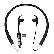 휴대 전화에 대 한 마이크 tf 슬롯 cwxuan 블루투스 v4.2 스테레오 이어폰 neckband 헤드폰