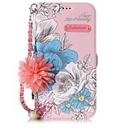 Недорогие Кейсы для iPhone 8 Plus-Кейс для Назначение Apple iPhone X / iPhone 8 Бумажник для карт / со стендом / Флип Чехол Слова / выражения / Цветы Твердый Кожа PU для iPhone X / iPhone 8 Pluss / iPhone 8 / Своими руками