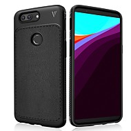 お買い得  携帯電話ケース-ケース 用途 OnePlus OnePlus 5T 耐衝撃 / つや消し バックカバー ソリッド ソフト TPU のために OnePlus 5T