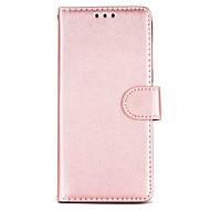 Недорогие Чехлы и кейсы для Galaxy S8 Plus-Кейс для Назначение SSamsung Galaxy S8 S7 Бумажник для карт Кошелек Покрытие Флип Чехол Сплошной цвет Твердый Кожа PU для S8 Plus S8 S7